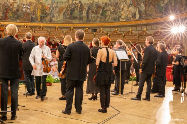 Ateneul Roman, Concertul Orchestrei Filarmonicii din Monte Carlo